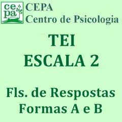 02.03 - TEI - Teste Equicultural de Inteligência - Escala 2 - Bloco c/ 25 fls. de Respostas