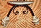 Artesanal Em Ferro E Madeira Torneada Atacado acima de 5 peças
