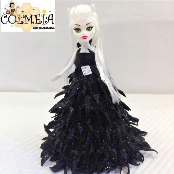 Boneca Monster vestido em EVA