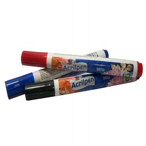 Acrilpen Acrilex (caneta) Tecido Natural