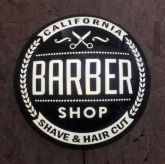 Luminoso Barber Black Bolha - 42 cm
