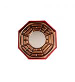 Bagua Feng Shui 13cm com Espelho Plano