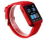 Relógio Bluetooth Vermelho Smart Watch Digital Smartphone