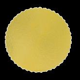 Cake Board Ouro Redondo 320mm 1un