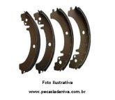Lonas de Freio c/ Sapatas Niva (Novo) Ref. 0114