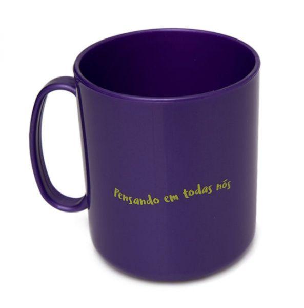 Caneca Violeta Cup para higienizar