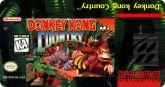 Label para Donkey Kong Country - Americano