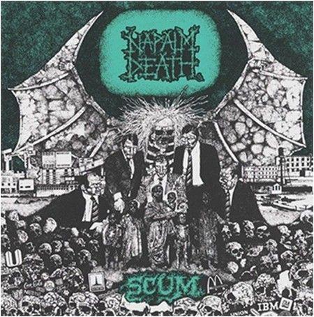 CD Napalm Death - Scum