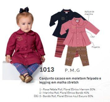 Conjunto casaco + legging - ITEM ESGOTADO - House Baby Moda Infantil 85e1dce593d