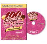 100 Forminhas para Doces - Silhouette- Volume 2