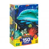 Puzzle 150 Peças - Amigos do Mar