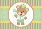 Papel Arroz Príncipe Urso A4 002 1un