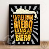 Murbildo - La plej bona biero