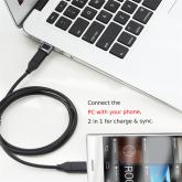 Adaptador Rock Type-C para USB-AM - Cinza Espacial