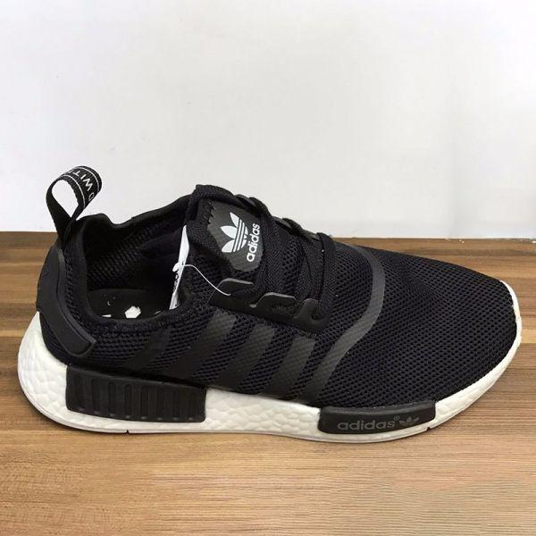 Tênis Adidas NMD Runner Preto - Outlet Ser Chic c56ec6694ce