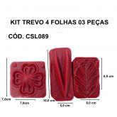 KIT TREVO 4 PONTAS - 03 PEÇAS