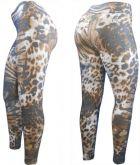 Calças Legging Estampadas |TC010-Tam. G-Veste 44