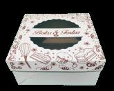 Caixa Bolos/Tortas 28A com Visor 1un