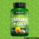 5415d151c Óleo de Cártamo com Coco 60 Cápsulas 1000mg Herbamed