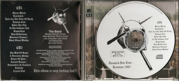 Candlemass – Doomed For Live - Reunion 2002