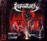 CD - Sepultura - Morbid Visions  Bestial Devastation Digipack