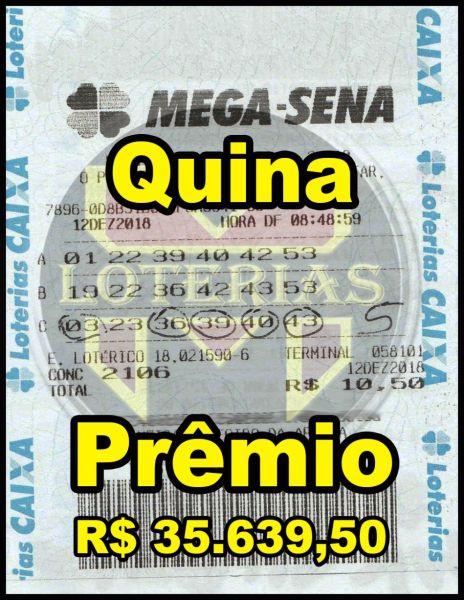 MEGA-SENA com 18 dezenas 100 apostas 4, 5 ou 6 pontos 100%
