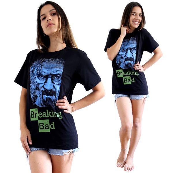 camiseta Breaking Bad - Big Blue