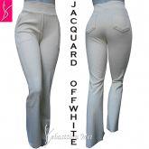 calça flare ou reta offwhite(48/50-52/54),bolsos frente e atrás, jacquard gramatura alta(grosso)