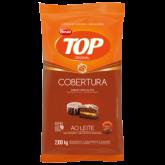 Cobertura em Gotas de Chocolate ao Leite Harald Top 2,1kg 1un