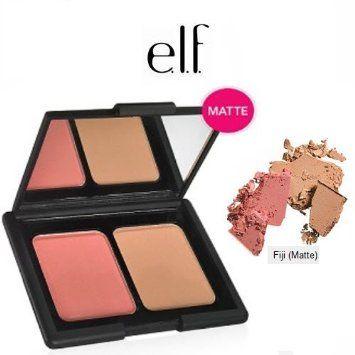 Duo de Bronzer e Blush matte da ELF (Contouring Blush & Bronzing Powder - Fiji)