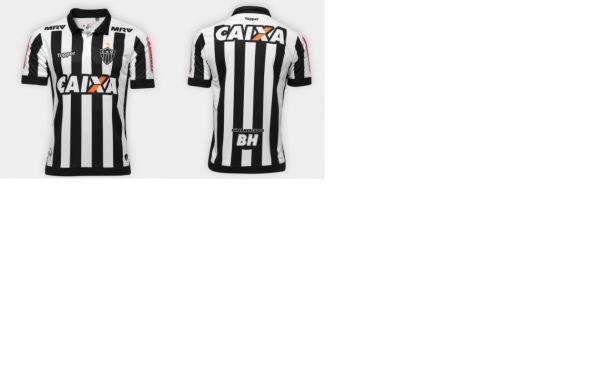 5aa2806f5e Camisa Atlético Mineiro I 17 18 S Nº - Torcedor Topper Masculina ...