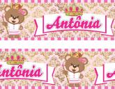 Faixa  Adesiva Princesa Urso - 020