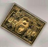 Card Dourado KISS Psycho Circus