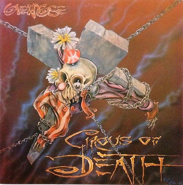 CD - Overdose ‎– Circus Of Death (+DVD)