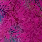 Lonita Folhas coloridas com fundo Rosa 1,0x9cm