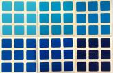 Gradient Blue 56/57mm 6 Tons de Azul