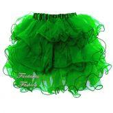 Saia de Tule Verde FF1451