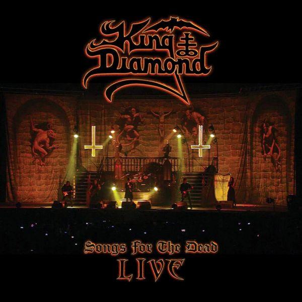 CD King Diamond – Songs for the Dead Live (DVD Duplo + CD)