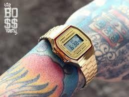 cf4391352be Relógio Casio Unissex A168 Retrô Vintage Dourado - Imperius Shop