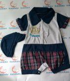 Macacão de bebê Curto Principe - Tam. P