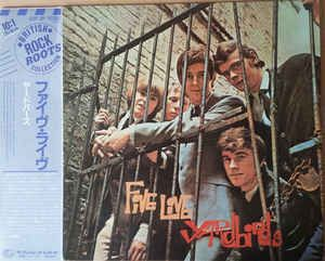 LP 12 - The Yardbirds – Five Live Yardbirds