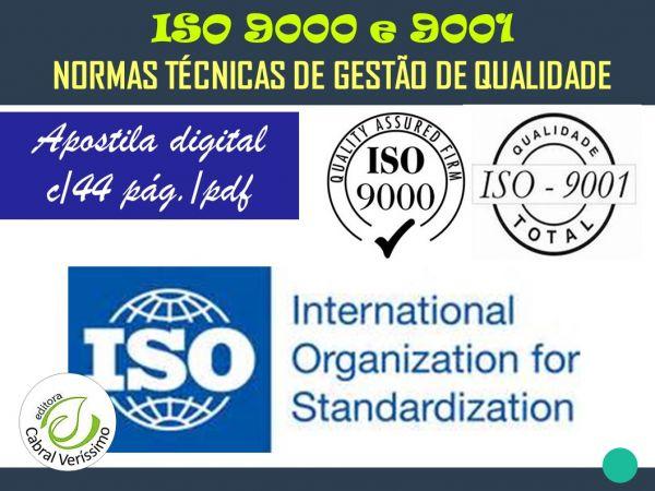 zz   ISO 9000  e 9001 - TÉCNICAS DE GESTÃO DE QUALIDADE