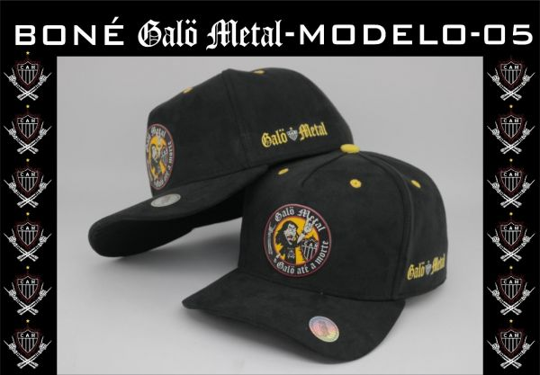 Galo Metal - Boné Galo Até o Morte