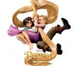 Papel Arroz Rapunzel Redondo 005 1un