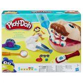 Brincando de Dentista Play-Doh