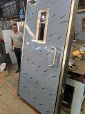 Porta Inox 2000 x 1000 com batente