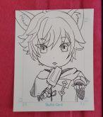 Sketchcard Genshin Impact Chongyun