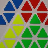 Pyraminx Dayan Shengshou FLUO - Half Bright
