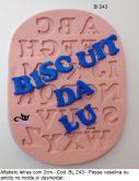 Alfabeto de 2cm a letra ( BL 0243 )