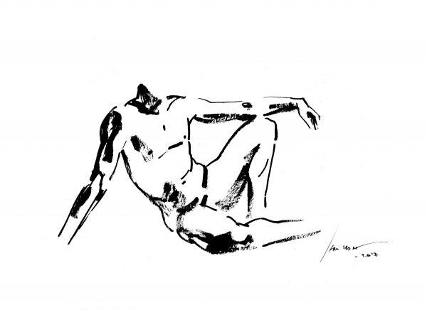 Modelo Vivo  - Arte Original